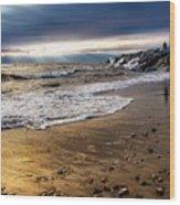 Sea Stones Wood Print