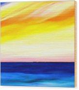 Sea Sweet Sky Wood Print