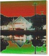 Seabeck General Store Wood Print