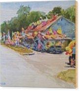 Seaberry Surf Gifts, Wellfleet Wood Print