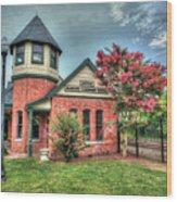 Seaboard Railroad Station Suffolk Va No.1 Wood Print