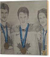 Seabrook Toews Keith Gold Medal Wood Print