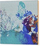 Seafloor Wood Print
