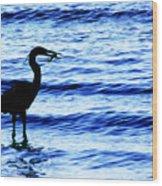 Seafood Deli Wood Print
