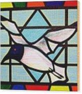 Seagull Serenade Wood Print