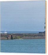 Seaham Lighthouse Wood Print