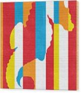 Seahorse 1505 Wood Print