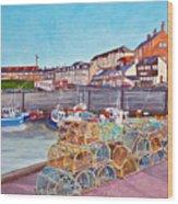 Seahouses IIi Wood Print