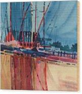 Seal Beach Wood Print