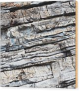 Abstract Rock Stone Texture Wood Print