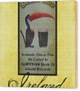 Seans Bar Guinness Pub Sign Athlone Ireland Wood Print