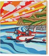Seaplane 2 Wood Print