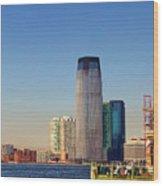 Seaport Ny Wood Print