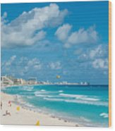 Search Vacations Online Wood Print