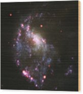Searching For The Best Black Hole Recipe Wood Print