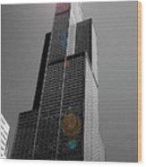 Sears Tower 2 Wood Print by BuffaloWorks Photography
