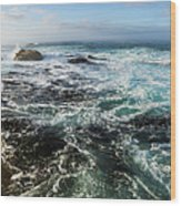 Seas Of The Wild West Coast Of Tasmania Wood Print