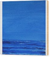 Seascape-0 Wood Print