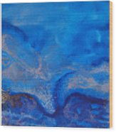 Seascape-1 Wood Print