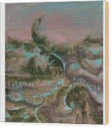 Seascape-2 Wood Print