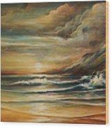 Seascape 3 Wood Print