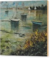 Seascape 78 Wood Print