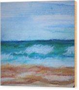 Seascape I Wood Print