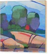 Seascape IIi Wood Print