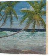 Seascape Series No.1 Wood Print