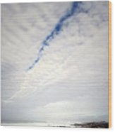 Seascape Skyscape Two Wood Print