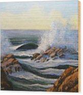 Seascape Study 1 Wood Print