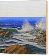 Seascape Study 4 Wood Print