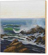 Seascape Study 5 Wood Print