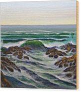 Seascape Study 6 Wood Print