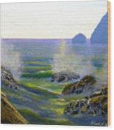 Seascape Study 7 Wood Print