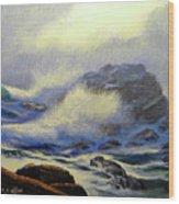 Seascape Study 8 Wood Print