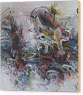 Seascape206 Wood Print