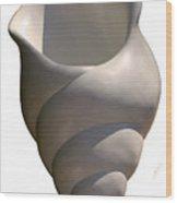 Seashell One Wood Print