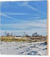 Seashore Escape Wood Print