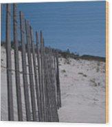 Seaside 01 Wood Print