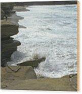 Seaside 2 Wood Print