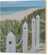 Seaside II Wood Print