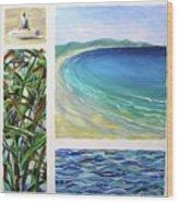 Seaside Memories Wood Print