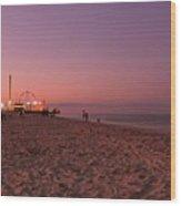 Seaside Park I - Jersey Shore Wood Print