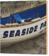 Seaside Park New Jersey Wood Print
