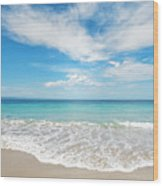 Seaside Serenity Wood Print