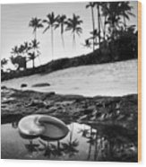 Seaside Treasure Wood Print