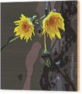 Seasons Ending Wood Print