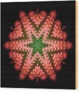 Seastar Lightmandala 2 Wood Print