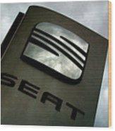 Seat 25 Wood Print